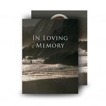 Seashore Co Down Standard Memorial Card