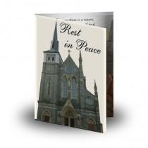 St Michaels Church Enniskillen Folded Memorial Card