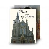St Michaels Church Enniskillen Standard Memorial Card