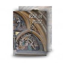 St Michaels Church Enniskillen Triangle Standard Memorial Card
