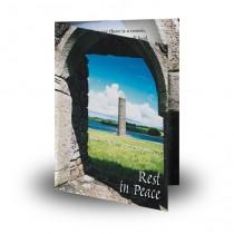 Devenish Island Archway Co Fermanagh Folded Memorial Card