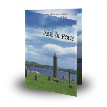 Devenish Island Co Fermanagh Folded Memorial Card