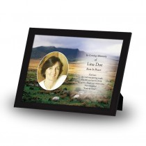 Mountain Field & Sheep Co Wicklow Framed Memory
