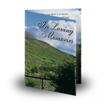 Field of Athenery Folded Memorial Card