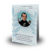Saint Charles Folded Memorial Card