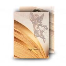 Our Little Angel Standard Memorial Card