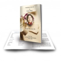 A Softer Paper Funeral Book