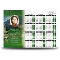 Irish Roots Calendar Single Page