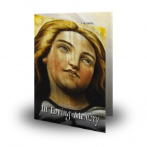 Virgin Mary Folded Memorial Card