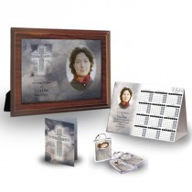 Cross Amid Clouds Table Package