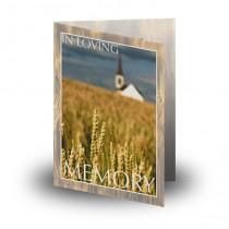Montana USA Folded Memorial Card