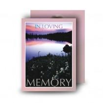 Lilac Lake Co Tyrone Standard Memorial Card