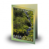 Stream Co Laois Folded Memorial Card