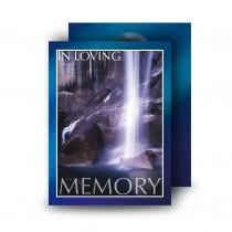 Waterfall South of Ireland Standard Memorial Card