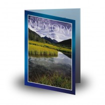 Reflections Co Offaly Folded Memorial Card