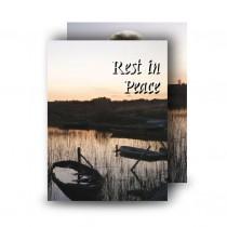 Keenaghan Lough Co Fermanagh Standard Memorial Card