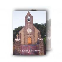 Church Bell Monea Co Fermanagh Standard Memorial Card
