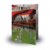 Remembrance Folded Memorial Card