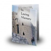 Tully Castle Co Fermanagh Folded Memorial Card