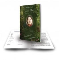 God's Heavenly Garden Funeral Book