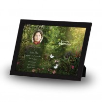 God's Heavenly Garden Framed Memory