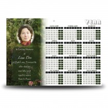 God's Heavenly Garden Calendar Single Page