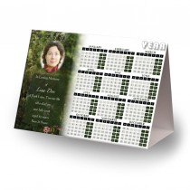 God's Heavenly Garden Calendar Tent