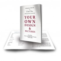 - Your Design Here - Funeral Book