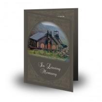 Coalmines Wales Folded Memorial Card