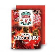 Liverpool Standard Memorial Card