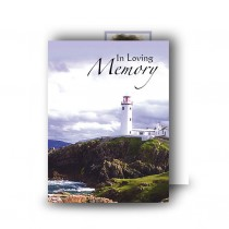 Lighthouse Co Donegal Standard Memorial Card