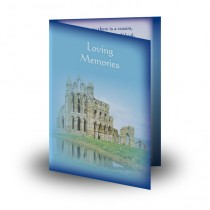 Whitby Abbey Folded Memorial Card