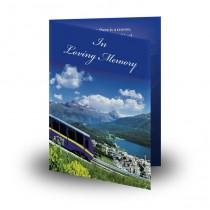 Tyrolean Highlands Folded Memorial Card