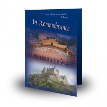 Edinburgh Military Folded Memorial Card