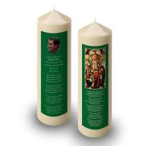Saint Patrick No 2 Candle