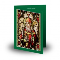 Saint Patrick No 2 Folded Memorial Card