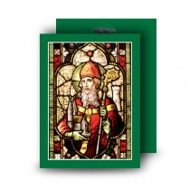 Saint Patrick No 2 Standard Memorial Card