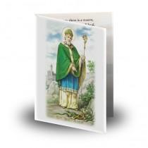 Saint Patrick Folded Memorial Card