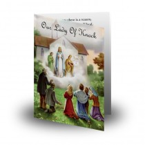 Our Lady Of Knock Folded Memorial Card