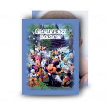 Disney Child Boy Standard Memorial Card
