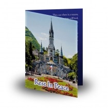 Lourdes Pilgrimage Folded Memorial Card
