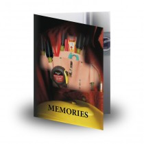 Electrician Folded Memorial Card