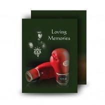 Boxing Standard Memorial Card