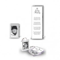 Black and white border Pocket Package