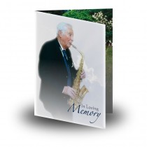 Bespoke Folded Memorial Card