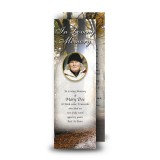 Autumn Lane Bookmarker