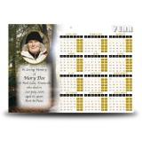 Autumn Lane Calendar Single Page