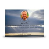 Clouds Over Sea Acknowledgement Card