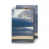 Clouds Over Sea Wallet Card