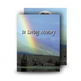 Rainbow Co Leitrim Standard Memorial Card